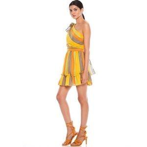 La Maison Talulah Imperial Mini Dress Multi Stripe